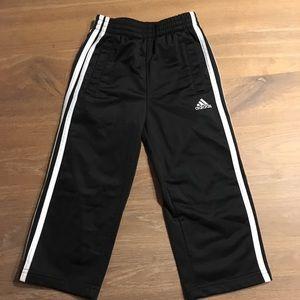 EUC Adidas warm up pants toddler size 3